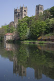 Vue de cathédrale de Durham Photographie stock