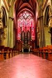 Vue de cathédrale de Xanten de l'organe photographie stock libre de droits