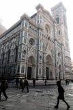 Vue de cathédrale de Florence Image libre de droits