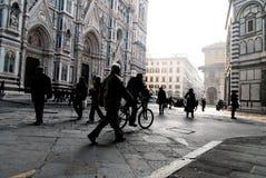 Vue de cathédrale de Florence Photographie stock