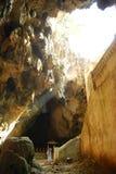 Vue de caverne. Photographie stock