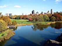 Vue de Central Park Photos libres de droits