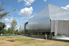 Vue de centre contemporain de culture de Garace Image libre de droits