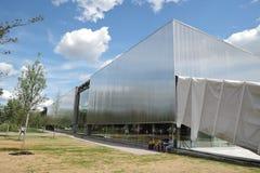 Vue de centre contemporain de culture de Garace Photos libres de droits