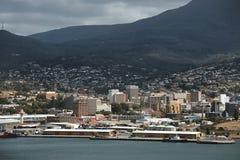Vue de centre de Hobart Images stock
