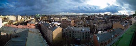 Vue de centre de la ville de Moscou Photos stock