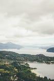 Vue de Cerro Campanario Photographie stock libre de droits