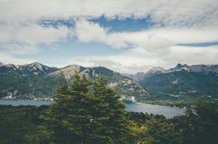 Vue de Cerro Campanario Image libre de droits
