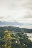 Vue de Cerro Campanario Photo stock