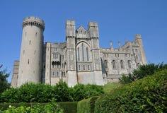 Vue de château d'Arundel Image stock