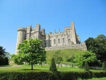 Vue de château d'Arundel Image libre de droits