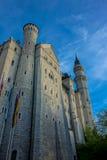 Vue de château de Neuschwanstein Images stock
