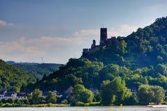 Vue de château de rstenberg de ¼ de fà de burg photographie stock