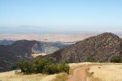 Vue de chaîne de montagne Photos libres de droits