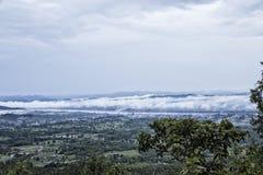 Vue de Chaing Khan de Phu Thok Image libre de droits