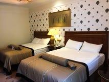 Vue de chambre d'hôtel photo libre de droits
