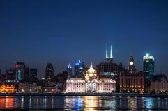 Vue de Changhaï Bund Image stock