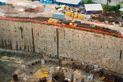 Vue de chantier de construction Photo libre de droits