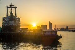 Vue de Chao Phraya River Photographie stock