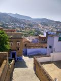 Vue de Chefchaouen Photo stock
