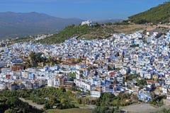 Vue de Chefchaouen, Maroc Photographie stock