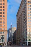 Vue de Chicago et de gratte-ciel centraux Chicago du centre, l'Illinois, Etats-Unis Photographie stock libre de droits