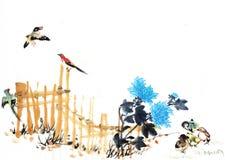 Vue de chinois traditionnel Image libre de droits