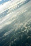 Vue de ciel Photos libres de droits