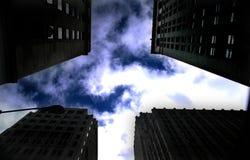 Vue de ciel Photographie stock