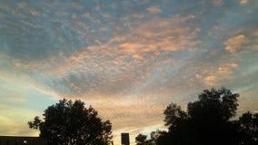 Vue de ciel Images stock