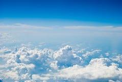 Vue de ciel d'air Images stock