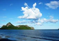 Vue de ciel de mer Photos libres de droits