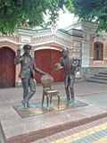 Vue de cintreuse d'Ostap de sculpture image libre de droits