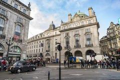 Vue de cirque de Piccadilly à Londres, R-U Image libre de droits