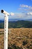 Vue de Coeur d'Alene de Mt. Spokane Photographie stock