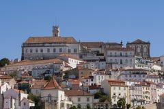 Vue de Coimbra Images libres de droits