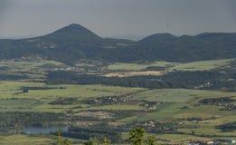 Vue de colline de hurka de Komari Photo libre de droits