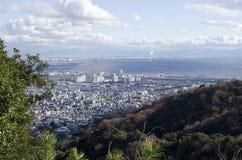 Vue de compartiment d'Osaka Photos libres de droits