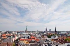 Vue de Copenhague Images libres de droits