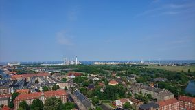 Vue de Copenhague Image stock