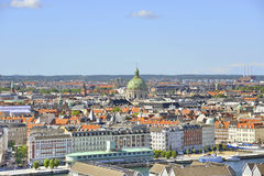Vue de Copenhague, Danemark Photo stock