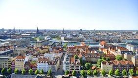 Vue de Copenhague, Danemark Image libre de droits