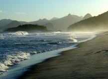 Vue de Corcovado du ³ i de Niterà Images libres de droits