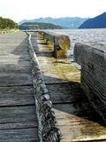 Vue de corde sur le dock chez Egmont, AVANT JÉSUS CHRIST Image libre de droits