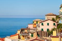 Vue de Corniglia Photographie stock