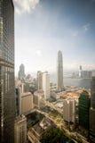 vue de corporation de ville photographie stock