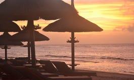 Vue de coucher du soleil Photographie stock