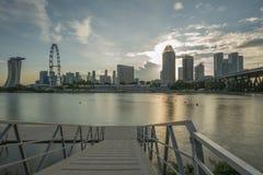 Vue de coucher du soleil Photos libres de droits