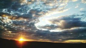 Vue de coucher du soleil Image libre de droits
