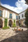 Vue de cour intérieure à Cordoue Image libre de droits
